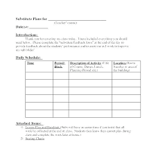 Teacher Daily Schedule Template Free Student Daily Schedule Template