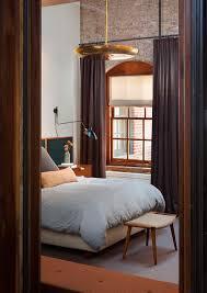 Loft Bedroom Privacy Old Caviar Warehouse Converted Into A Sensational Nyc Loft