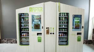 Vending Machine Fridge Simple Farmer's Fridge Founder Develops His Own Tools Kiosk Marketplace