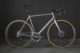 twin six rides out with new titanium road randonneuring standard
