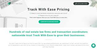 track with ease pricing no credit card required close deals faster