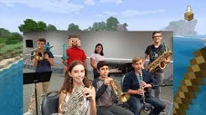 Band Kids Play Peaceful Minecraft Music to relax you