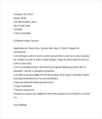 Ideas Collection Cover Letter Format For Tourist Visa Nice Gallery