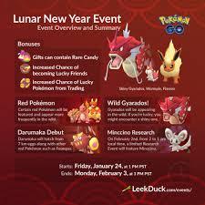 Leek Duck - The Lunar New Year Event in Pokémon GO has...