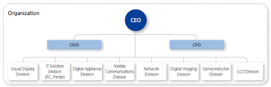 Visible Business Samsung Electronics Organizational Chart