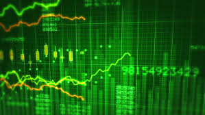 Blue In Green Chart Financial Chart 3 In 1 Stock Footage Video 100 Royalty Free 11740271 Shutterstock