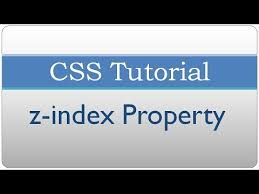 CSS Tutorial - z-index Property - YouTube