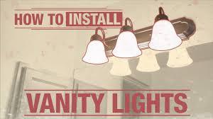 Vanity Light Wiring Diagram How To Install Vanity Lights