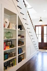 Amusing Building Shelves Under Stairs Pics Ideas