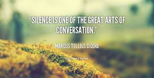 Image result for quotes on silence