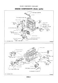nissan sd manual de taller engine components