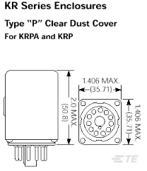 krp 11dg 110 product details tyco electronics schematic