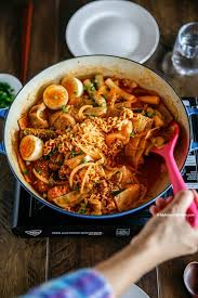 Rabokki Ramen Tteokbokki My Korean Kitchen