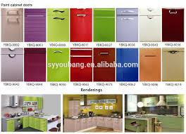 Household 2017 Alibaba Furniture Cheap Modern Kitchen Cabinet Doors Various  Styles And Color Made In China