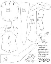 Doll Patterns Inspiration Felt Fairy Doll Pattern By Impetere On DeviantArt