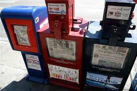 Newspaper Vending Machine Locations Simple Local Newspaper Vending Machines George Kelly Flickr
