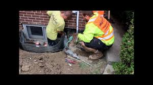window well drainage. How To Replace Window Well And Drains By Aquaseal 1-888-750-0848 - YouTube Drainage