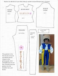 14 Inch Doll Clothes Patterns Free