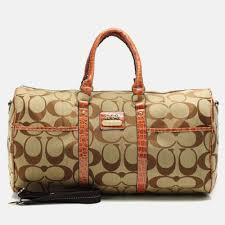 Coach Outlet Bleecker Monogram In Signature Large Khaki Luggage