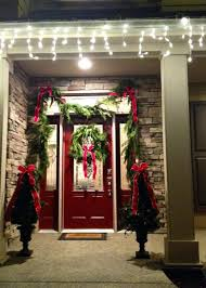 how to hang garland around front doorFront Doors  Home Door Ideas 3 Reasons To Celebrate The Holidays