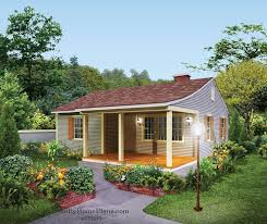 aethetically pleasing cottage home with deep front porch