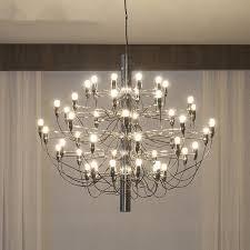 nordic chrome gold led ceiling chandeliers 18 30 bulbs pendant lamp living room hanging light fixtures luminaire home lighting light ceiling kitchen