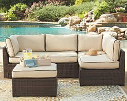 outdoor sectional. Brilliant Sectional Loughran 4piece Outdoor Sectional Set  Large With O
