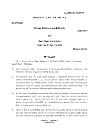 Sworn Affidavit Form I 24 Affidavit Letter Sample Balolymyku Affidavit Examples 22