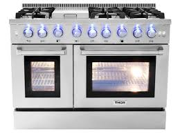 stove with griddle. THOR 48 Inch Propane Range With Griddle Stove