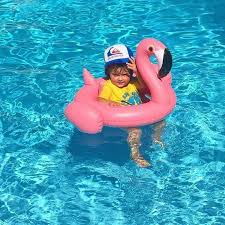 pool floats for kids.  Kids New 70cm Flamingo Swimming Ring For Kids Swim Rings Thicken PVC Inflatable Pool  Floats Bathing Toy Newborn Baby Ride On Swanin From  Throughout For W
