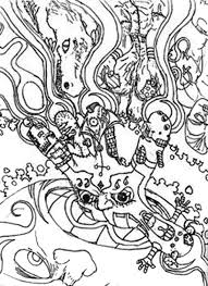 Small Picture Alice In Wonderland Trippy Coloring Pages Coloring Coloring Pages