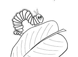 Very Hungry Caterpillar Butterfly Coloring Sheet Hungry Caterpillar