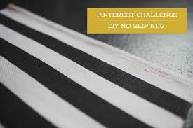 diy no slip rug
