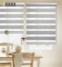 Wholesalehot Sell High Quality Window Shades Double Roller Zebra Blinds  Blackout Fabric Woodenlook Customized Size From China Factory  DHgatecom