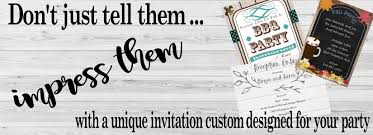 Photo Party Invitations Party Invitations Printed Or Digital Newly Designed 2019