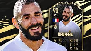 FIFA 21 IF BENZEMA 90 PLAYER REVIEW - YouTube
