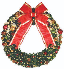 pre lit holiday wreaths expert outdoor lighting advice