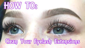 eyelash extensions how to clean your face remove your makeup in depth you