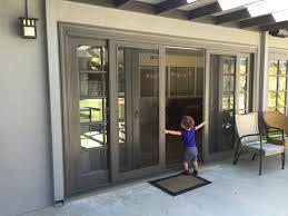 custom sliding screen door kit sliding doors design