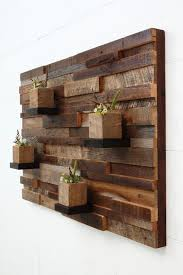 wall wooden decoration