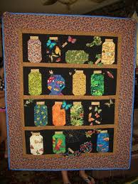 276 best I spy quilts images on Pinterest   Quilt patterns ... & Canning Jar Quilt--I have been saving fabric for years to make one of Adamdwight.com