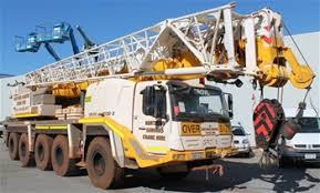 Eoi 2008 Grove Gmk 5130 2 All Terrain Crane Wa