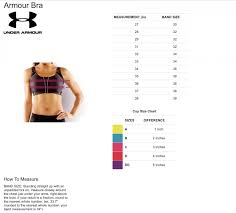 Size Chart Under Armour