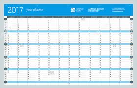 Year Planner Template 2017 | Planner Template Free