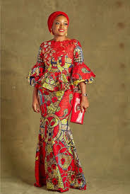 Image result for ankara evening gowns