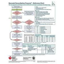 Neonatal Resuscitation Program Reference Chart Nrp Code Cart Card 2016 Pack Of 5