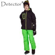2019 <b>Detector Boys Ski Snowboard</b> Set Winter Waterproof ...