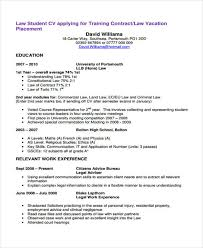 Law Student Resume Simple Law Student Resume Template 28 Law Curriculum Vitae Templates Pdf