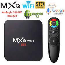 MXQPRO Smart TV Box MXQ PRO 4K RK3228A Amlogic S905W 2GB 16GB 3D 2.4G WIFI  TVBox Google Play Youtub Media TV Player Android TV Set-top Boxes