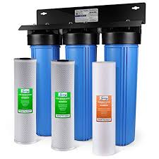 Water filter system Well Image Unavailable Amazoncom Ispring Wkb32b Wgb32b 3stage Whole House Water Filtration System